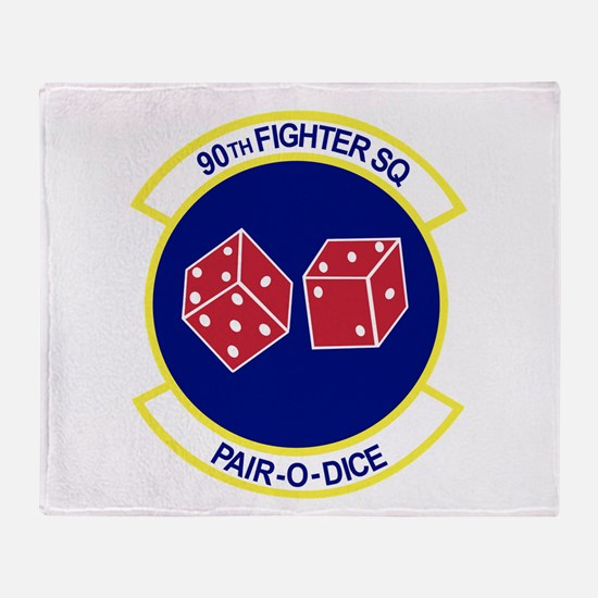 Funny Squadron Throw Blanket