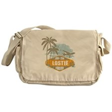 LOST - Lostie orange Messenger Bag