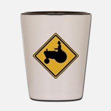 Tractor Sign Shot Glass