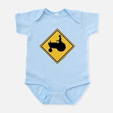 Tractor Sign Infant Bodysuit