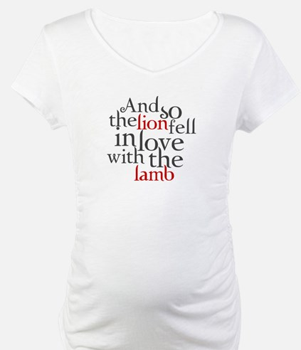 Lion fell in love with the lamb Shirt