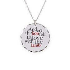 Lion fell in love with the lamb Necklace