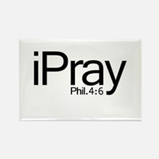 iPray Rectangle Magnet