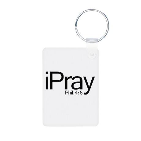 iPray Aluminum Photo Keychain