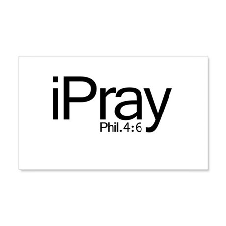 iPray 22x14 Wall Peel