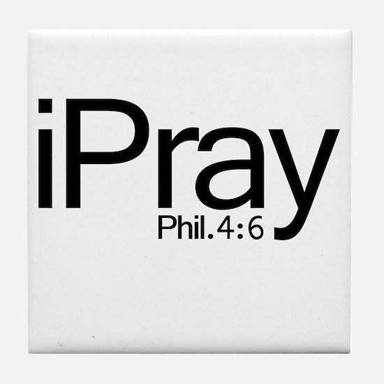 iPray Tile Coaster