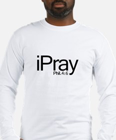 iPray Long Sleeve T-Shirt