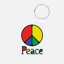 Emphatic Peace Colours Keychains