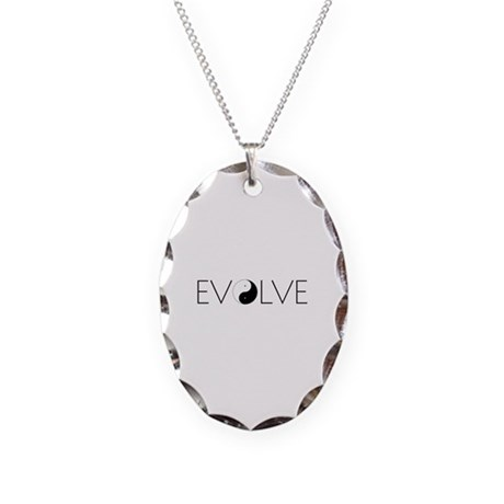 Evolve Balance Necklace Oval Charm