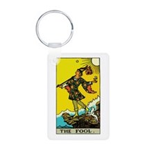 The Fool Tarot Card Keychains