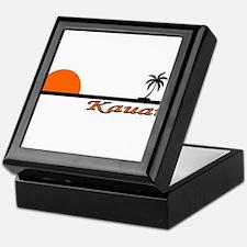 Cool Oahu Keepsake Box