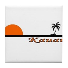Cute Kauai Tile Coaster