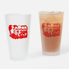 Mao,Stalin,Lenin,Engels,Marx Drinking Glass