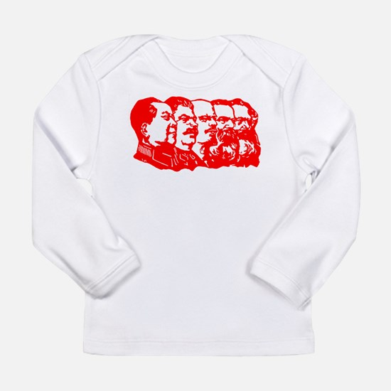 Mao,Stalin,Lenin,Engels,Marx Long Sleeve Infant T-