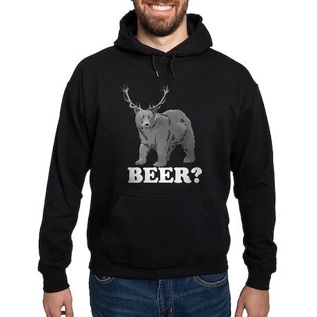 Beer Bear Hoodie (dark)