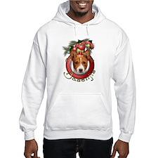 Christmas - Deck the Halls - Basenjis Jumper Hoody