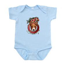 Christmas - Deck the Halls - Basenjis Infant Bodys