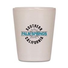 Palm Springs California Shot Glass