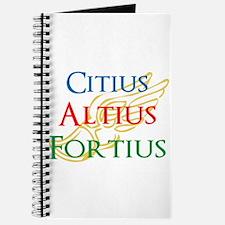 Citius Altius Fortius Journal