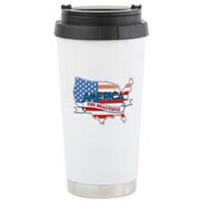 America The Beautiful Travel Mug