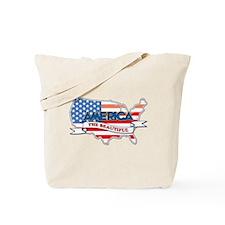 America The Beautiful Tote Bag
