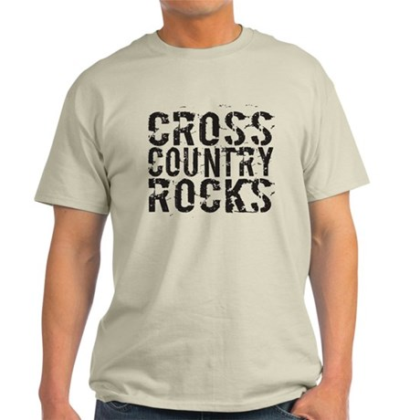 Cross Country Rocks Light T-Shirt