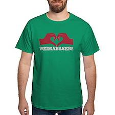 Heart for Weimaraners T-Shirt
