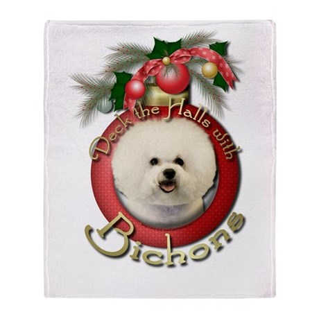 Christmas - Deck the Halls - Bichons Stadium Blan