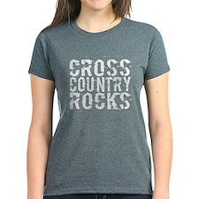 Cross Country Rocks Tee