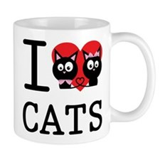 I love my cats Mug