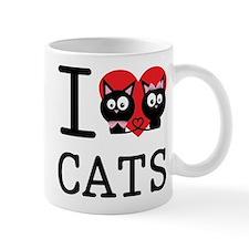 I love my cats Mug