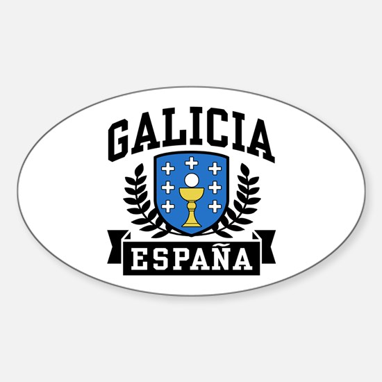 Galicia Espana Sticker (Oval)