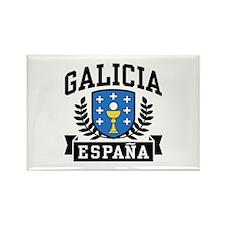 Galicia Espana Rectangle Magnet