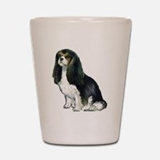 Black and tan Cavalier Shot Glass