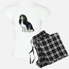 Black and tan Cavalier Pajamas