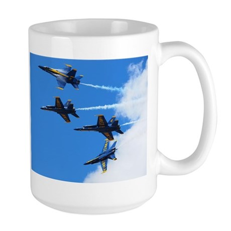 Blue Angels Large Mug