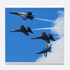 Blue Angels Tile Coaster