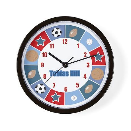 All Stars Sports Wall Clock - Tobias Hill