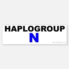 Haplogroup N Bumper Bumper Bumper Sticker