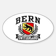 Bern Switzerland Sticker (Oval)