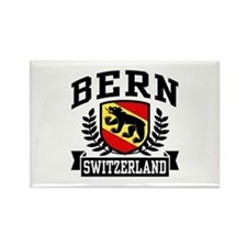 Bern Switzerland Rectangle Magnet
