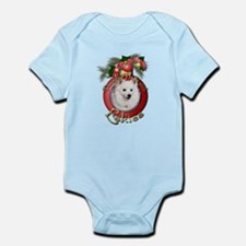 Christmas - Deck the Halls - Eskies Infant Bodysui