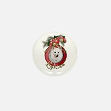 Christmas - Deck the Halls - Eskies Mini Button (1