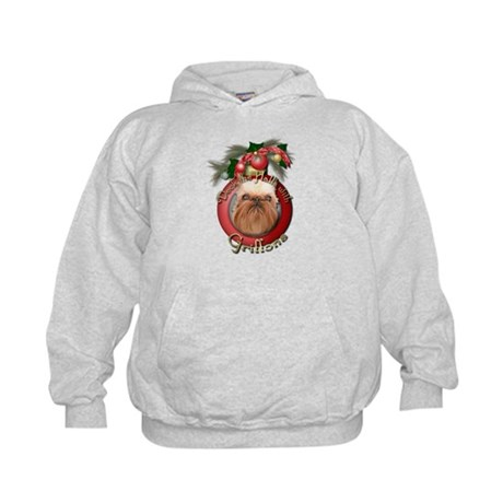 Christmas - Deck the Halls - Griffons Kids Hoodie