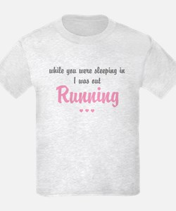 "Running ""FUN SIZE"" Light T-Shirt"