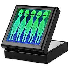 Invaders From Space Keepsake Box