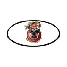 Christmas - Deck the Halls - Schnauzers Patches