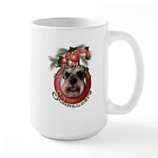 Christmas - Deck the Halls - Schnauzers Mug