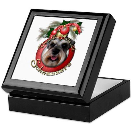 Christmas - Deck the Halls - Schnauzers Keepsake B