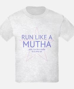 "Run Like a Mutha ""FUN SIZE"" Light T-Shir"